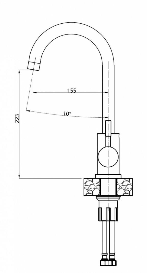 Bateria zlewozmywakowa czarna beżowa szara