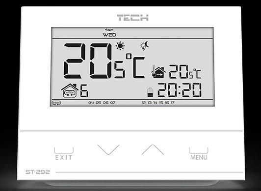TECH ST-292v3 REGULATOR POKOJOWY STEROWNIK TYGODNIOWY