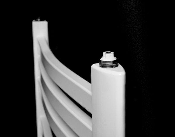 Grzejnik łazienkowy Kermit 58x94 drabinka biała