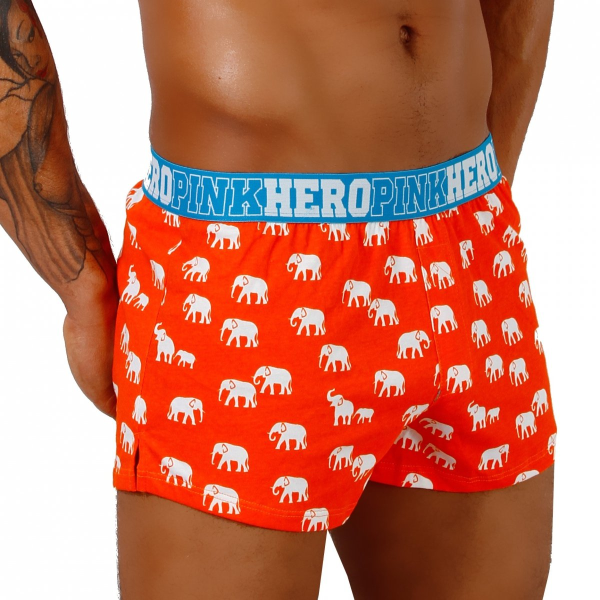 Royalunderwear - men`s underwear - PINK HERO Orange ... - photo#47