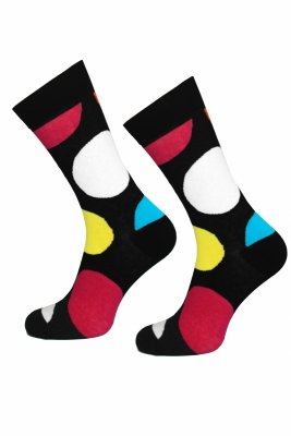 Supa! Sox! Big Dots #138 Socks (AM0138)