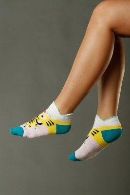 Supa! Sox! Yellow Tigerladies socks (JP6261)