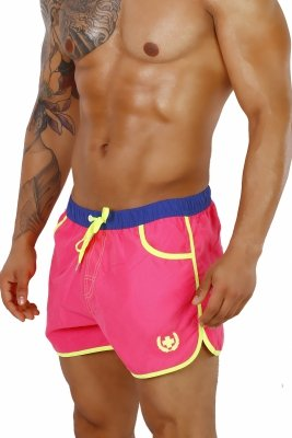 Supa! Swim! Guard Trunks (Pink)