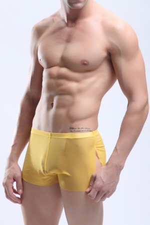 Boxerky Manview Zeus Yellow