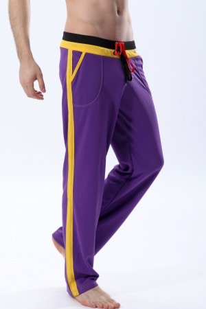 WJ 404 Long Training Pants (Purple)