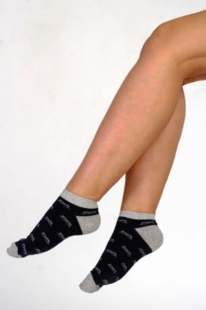 Supa! Sox! Navy Glasses ladies socks