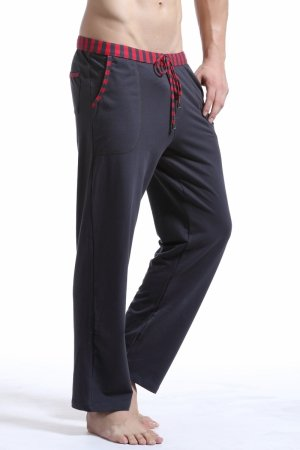 WJ Soft Touch Long Training Pants (Grey)