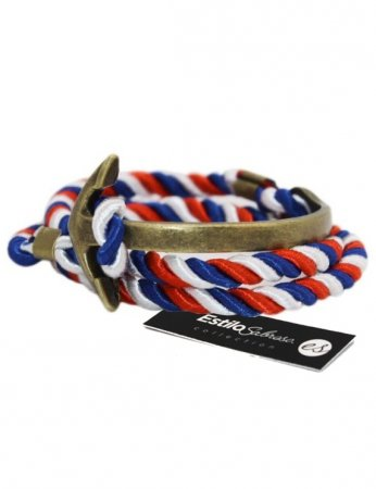 Men's bracelet with anchor Estilo Sabroso ES05452