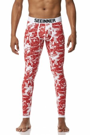 Long Johns SEEINNER Red Streets