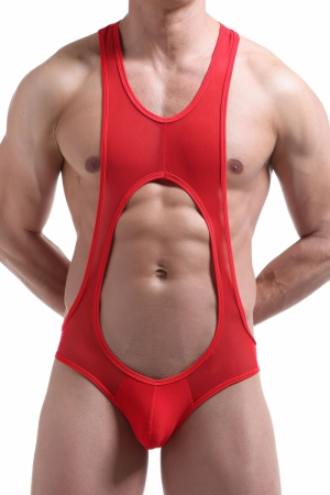 Men`s WRESTLER / TRICOT MJ Red Mesh