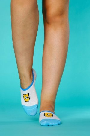 Supa! Sox! Azure C ladies socks