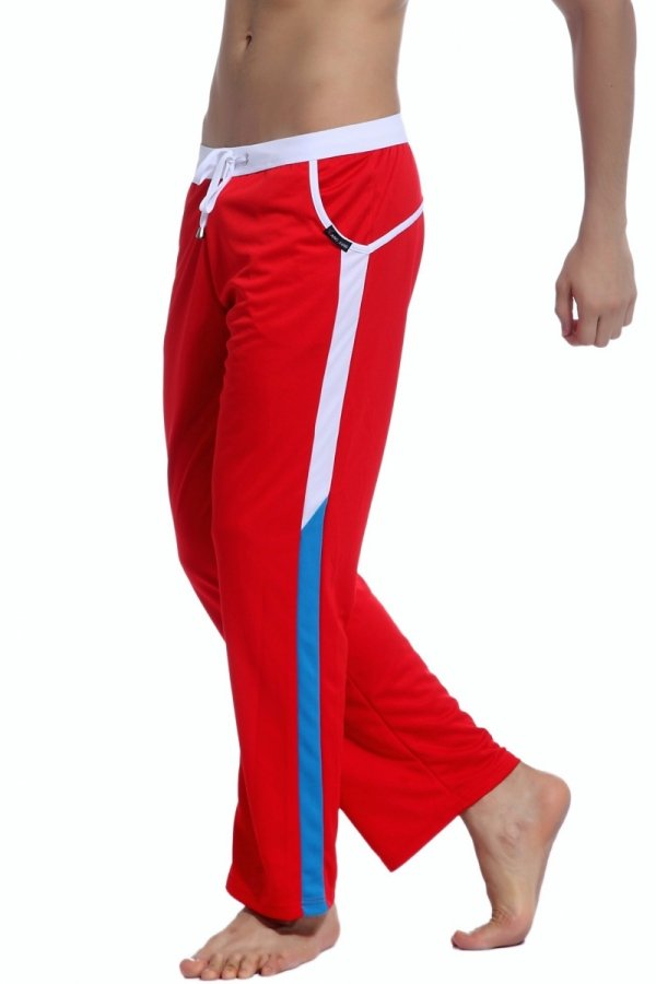BODY GMW Long Training Pants (Red)