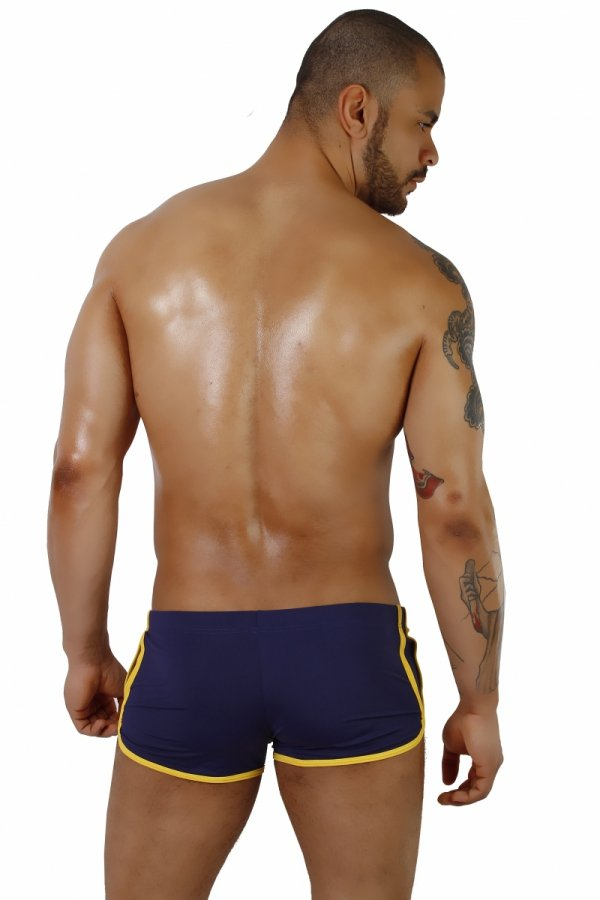 Supa! Swim! Retro Navy Swimwear (Boxers)