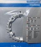 Tarcza mechanizmu korbowego Shimano Deore FC-M540/510/480/470 32T srebrna stalowa