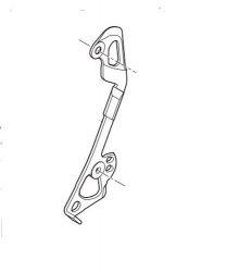 Wózek przerzutki Shimano XTR RD-M9100 SGS wewnętrzny