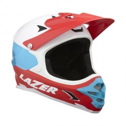 Kask extreme Lazer Phoenix+ Mat White Blue Red M