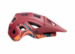Kask Lazer Impala Matte Red Rainforest roz.M