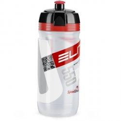 Bidon Elite CORSA przeźroczysty/czerwony 550ml