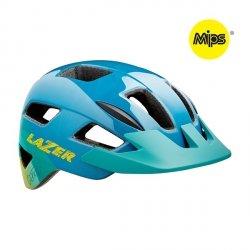 Kask Lazer Gekko Blue Yellow + MIPS