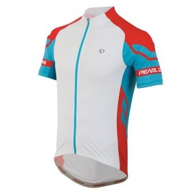 Koszulka Pearl Izumi rowerowa Elite White/Blue Atoll M
