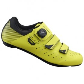 Buty szosowe Shimano SH-RP400SY7 żółte roz.43.0