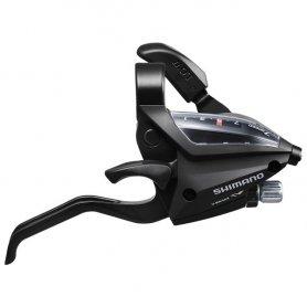 Dźwignia przerzutki/hamulca Shimano ST-EF500 7rz Czarna