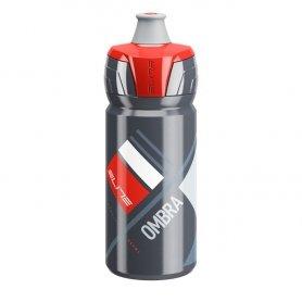Bidon Elite Ombra Szary - Czerwona Grafika 550ml