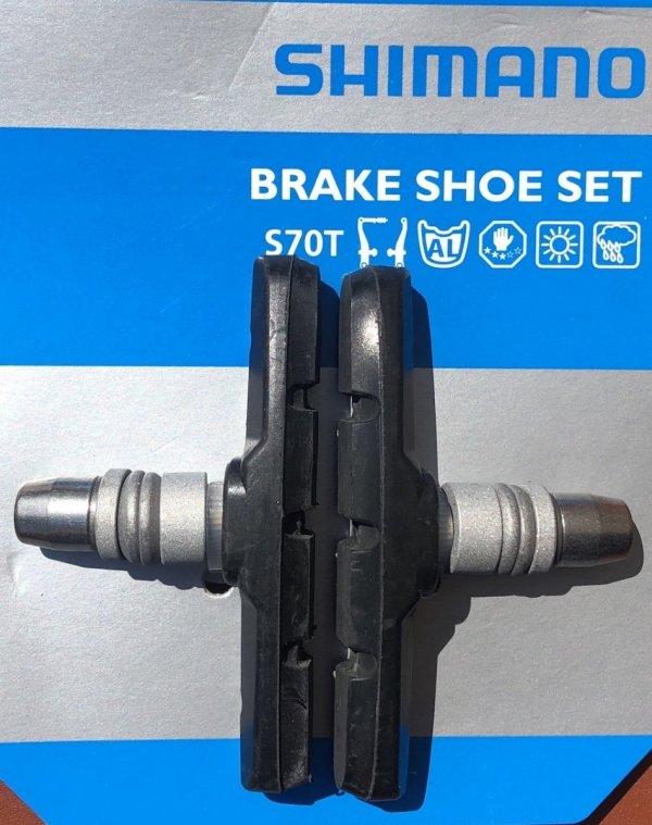 Klocki hamulca V-Brake Shimano S70T