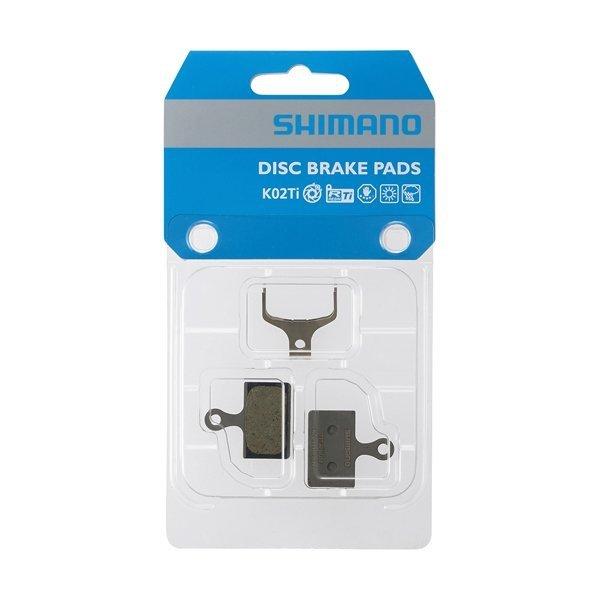 Okładziny hamulca tarczowego Shimano K02TI żywiczne
