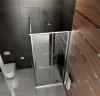 REA - Kabina prysznicowa kwadratowa PUNTO