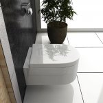 REA- Misa WC OLIVIA  + deska ABS