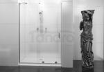 REA - Drzwi prysznicowe przesuwne CEZAR powłoka 140cm Easy Clean