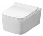 REA - Miska WC RICO Rimless + deska duroplastowa wolnoopadająca