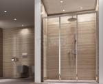 REA - Drzwi prysznicowe przesuwne ALEX 130cm