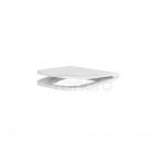 CERSANIT - Deska Caspia Slim antybakteryjna, duroplastowa, wolnoopadająca z funkcją wypinania K98-0145