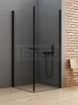 NEW TRENDY Kabina prysznicowa prostokatna NEW SOLEO BLACK 70x100x195 D-0229A/D-0232A