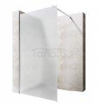VELDMAN - Ścianka prysznicowa WALK-IN szkło mrożone 8mm  FB11