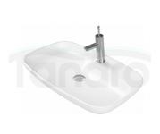 CeraStyle Umywalka ceramiczna NOVA 70cm Biały MAT