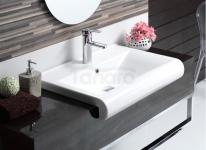 CeraStyle - Umywalka ceramiczna nablatowa / ścienna / nablatowa SIDE