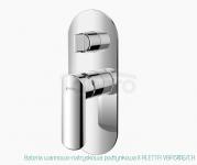 VEDO Bateria wannowo-natryskowa podtynkowa II ALETTA VBA5016/CH