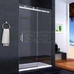 REA - Zestaw Drzwi prysznicowe NIXON 2 100cm Prawe + Zestaw natryskowy NAVARO