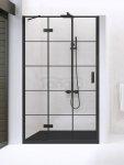NEW TRENDY - Drzwi wnękowe New Renoma BLACK 90x195  D-0272A  PRAWE