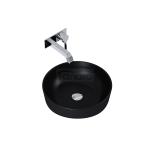 ELITA- Umywalka ceramiczna nablatowa LORCA 42 BLACK MATT/CZARNA 145084