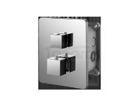 VEDO - Bateria termostatyczna podtynkowa 2 wyjścia QUADRO 6771-2
