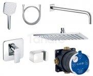 KLUDI Zestaw natryskowy prysznicowy podtynkowy 7w1 PURE&STYLE 406300575 BS