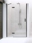 NEW TRENDY - Drzwi wnękowe New Renoma BLACK 90x195  D-0195A  LEWE