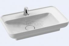CeraStyle - Umywalka ceramiczna nablatowa / wpuszczana w blat LAL 70