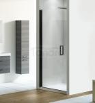 NEW TRENDY - Drzwi wnękowe prysznicowe NEGRA czarne profile Rozmiary 80cm EXK-1193