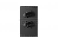 VEDO - Bateria termostatyczna podtynkowa 2 wyjścia ROUND IIS  6732YCZ