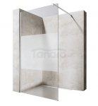 VELDMAN - Ścianka prysznicowa WALK-IN szkło PÓŁ-MROŻONE 8mm  FB11